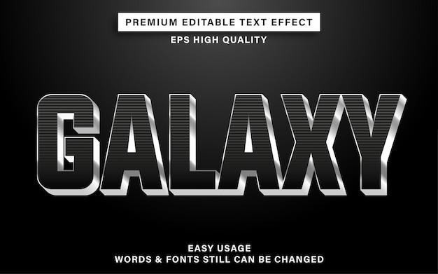 Текстовый эффект galaxy