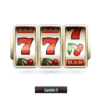 Gambling background design