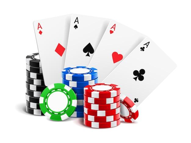 Gambling game illustration