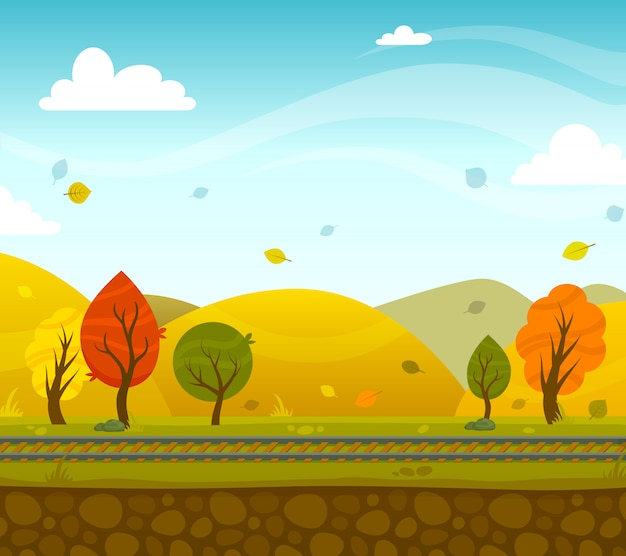 Game 2d park landscape
