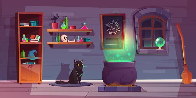 巫婆房子游戏背景