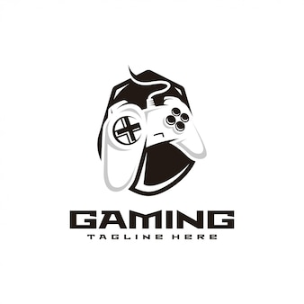 Game controller gaming e sport logo