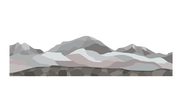 게임 풍경. 만화 디자인 자연입니다. 토양 단면의 풍경입니다. 흰색 배경에 고립 된 단면 지상 슬라이스의 그림