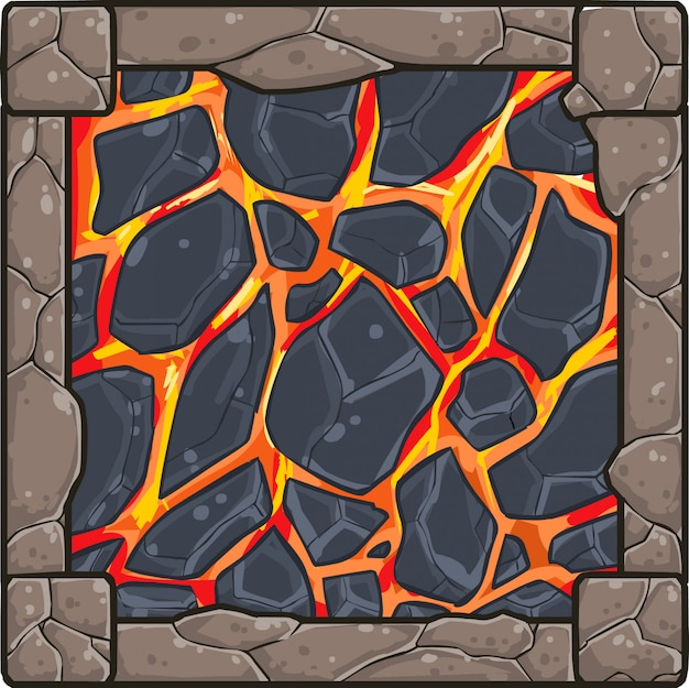 ゲーム溶岩アイテム