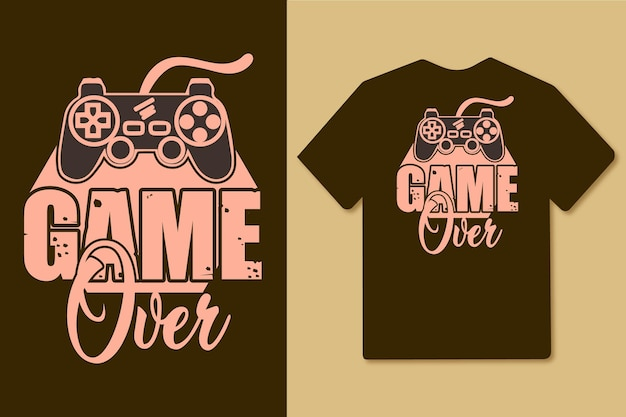 Game over quotes design