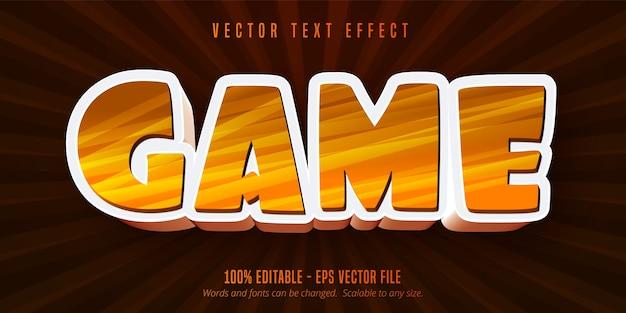 게임 텍스트, 만화 스타일 편집 가능한 텍스트 효과