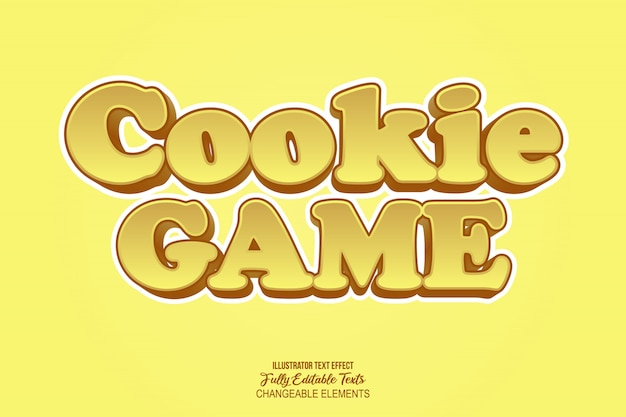 Game text effect graphic style