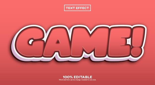 Игра! текстовый эффект