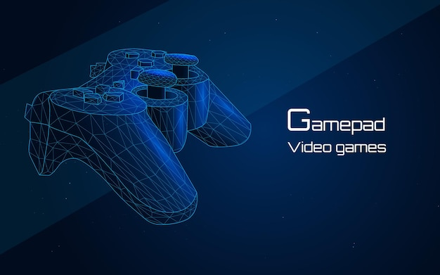 Gamepad joystick controller they are usually the primary input device for game consoles
