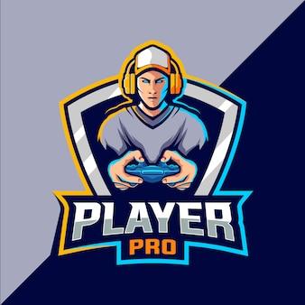 Логотип gamer esport