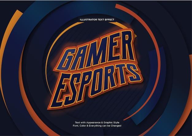 게이머 e 스포츠