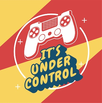 ゲーマーはその制御下にあります