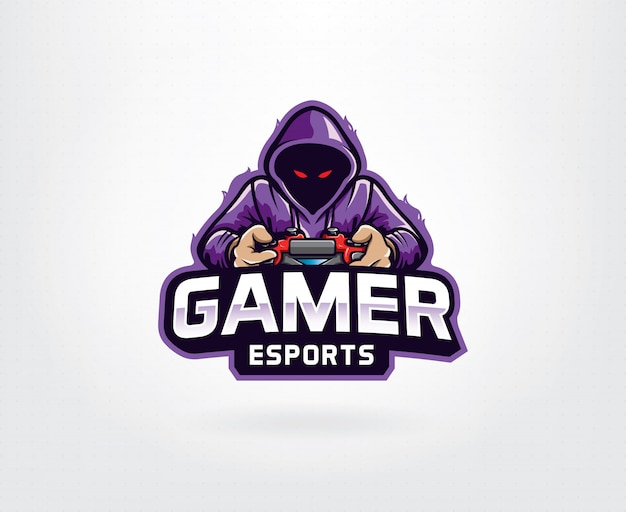 Gamer purple logo