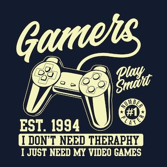 Gamers controller graphic