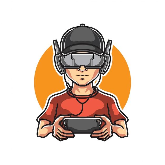 Gamers mascot logo