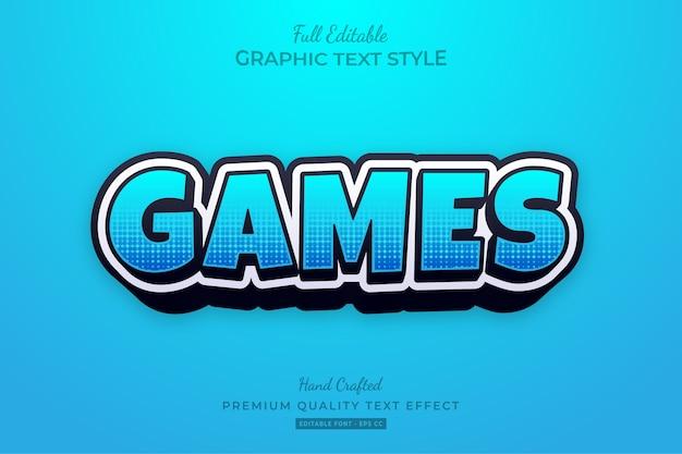 Игры мультфильм редактируемый текст премиум-класса