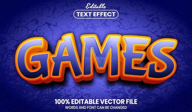 게임 텍스트, 편집 가능한 텍스트 효과