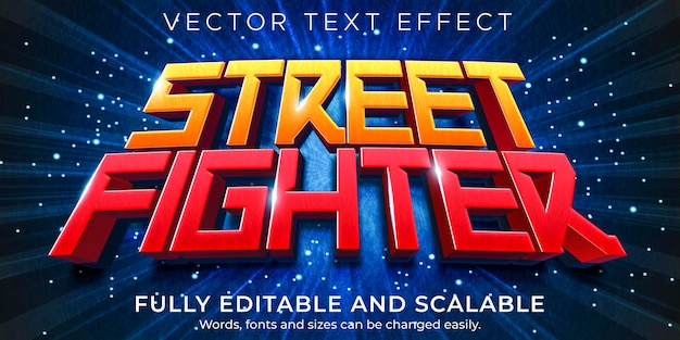 Gaming cartoon text effect; editable game and funny text style