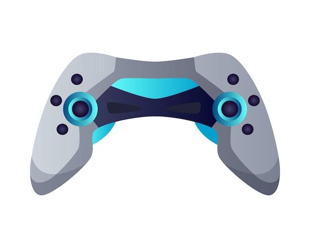 게임 장비. 게임 엔터테인먼트를 위한 조이스틱 재생. e-스포츠 액세서리. 게이머 토너먼트 또는 챔피언십을 위한 요소입니다.