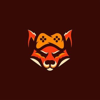 Логотип gaming fox