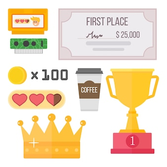 Gaming kiber sport reward competition