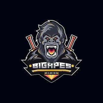 Gaming logo bisg apes