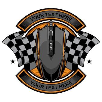 Gaming mouse logo