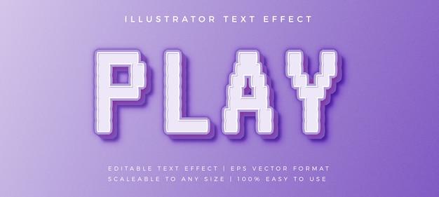 Эффект шрифта в стиле игрового пикселя
