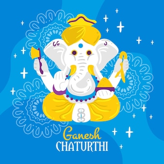 Ganesh chaturthi concept
