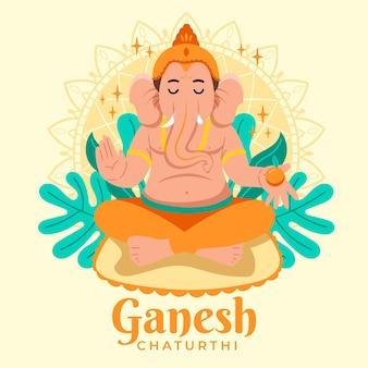 Ganesh chaturthi drawing