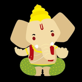 Ganesh God Illustration