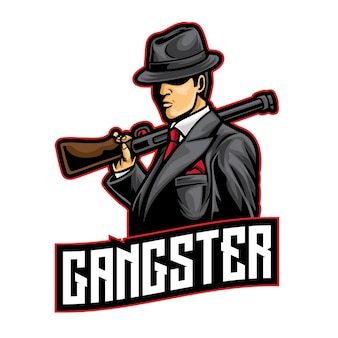 Gangster mafia esport 로고