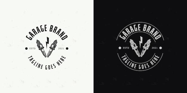Garage logo design template