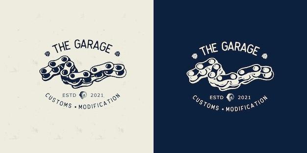 차고 로고 디자인 서식 파일