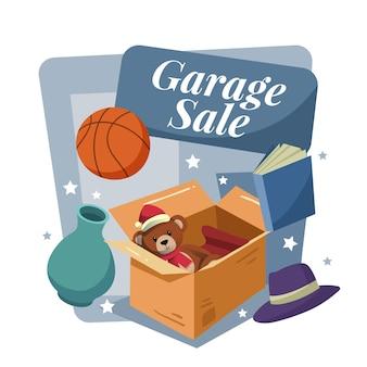 Концепция продажи гаража