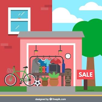 Garage sale Free Vector