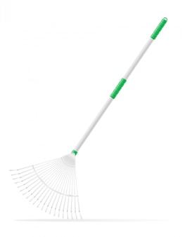 Garden tool rake.