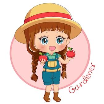 Gardener character