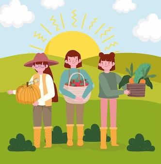 정원사 사람들 유기농 식품