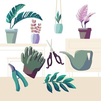 Садоводство дома концепции
