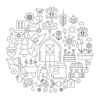 Gardening cover