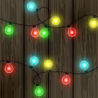 Гирлянда, свет, фонарики. новогодняя гирлянда. празднование. осветительные приборы.