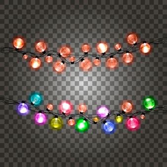 Garland lights.