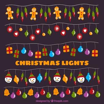 Ghirlande di decorazione christmas pack
