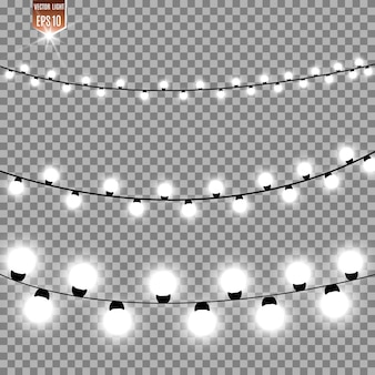 Garlands, light.