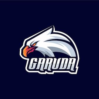 가루다 로고 디자인