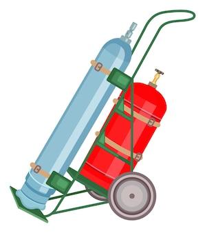 Gas cylinder tank