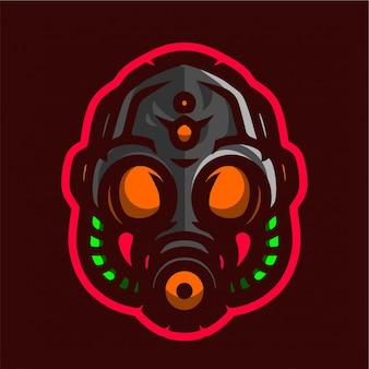 防毒マスクeスポーツのロゴ
