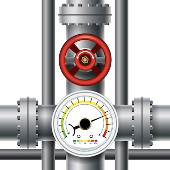 Gas pipe valve, pressure meter. transit and industrial manometer, control and measurement.