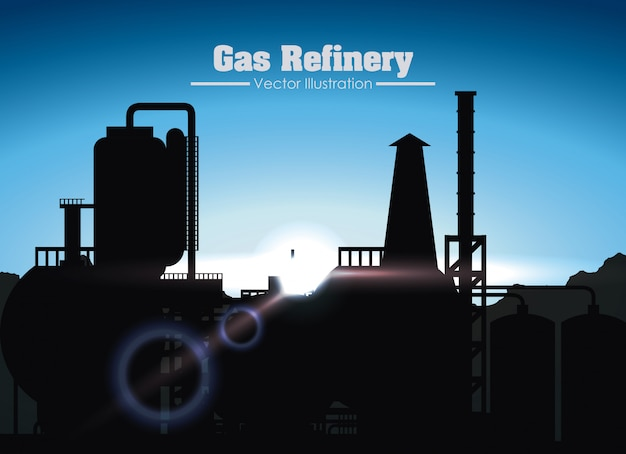 Gas refinery design